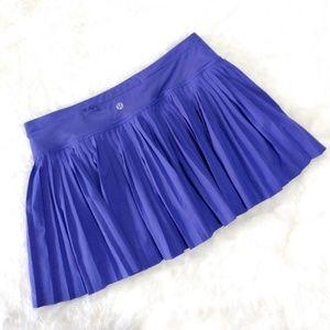 🆕 Lululemon Pleat To Street Skirt II Iris Flower